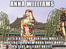 Anna Williams-- Army Girl Uniform Meme by MSP10julia on DeviantArt via Relatably.com
