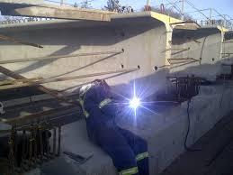 structural steel girder welding