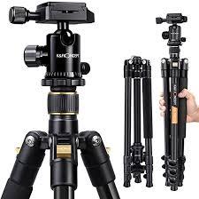 """<b>Camera Tripod</b>, K&F Concept 62"""" <b>Professional</b> Aluminum <b>Tripod</b> ..."""