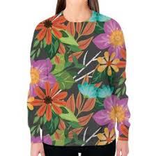 """Женская одежда c популярными принтами """"цветочки"""" - <b>Printio</b>"""