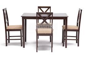 <b>Обеденный комплект эконом</b> Хадсон (стол+4стула)