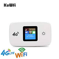 <b>4G WiFi</b> Router, KuWFi <b>Unlocked 150Mbps</b> Car <b>4G Wifi</b> Router ...