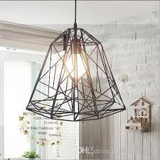 modern design wholesale creative iron article bar pendant lights with bulbs industrial style lamp for study room coffee bar cheap modern pendant lighting
