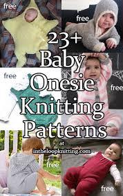 <b>Baby</b> Onesie and <b>Romper Knitting</b> Patterns - In the Loop <b>Knitting</b>