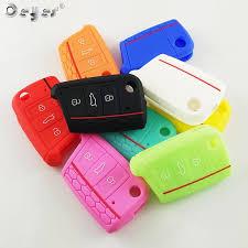 <b>Ceyes Силиконовый автомобиль ключ</b> Крышка для Skoda ...