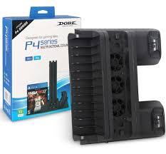 <b>Вертикальная подставка</b> для Sony PS4 Slim/Pro - Multi-Functional ...