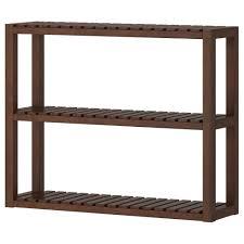 wall shelves uk x: molger wall shelf dark brown width    quot depth