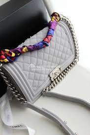 <b>Le boy</b> grey caviar in 2020   Chanel handbags, Chanel <b>boy bag</b> ...