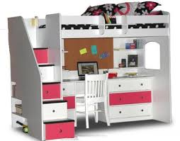 bunk beds with stairs and desk for sale bunk beds stairs desk