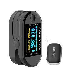 2PCS <b>Digital Finger</b> Oximeter Portable <b>Electronic</b> LED Display ...