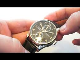 <b>Parnis Black Dial</b> Power Reserve Dress Watch - YouTube
