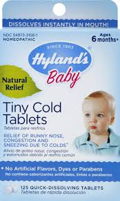 Hyland's <b>Baby Tiny Cold Tablets</b> Quick-Dissolving | Hy-Vee Aisles ...