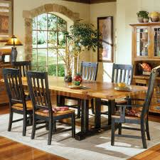 Rustic Wood Dining Room Table Gallery Of Unpolished Maple Wood Dining Chairs With Banister