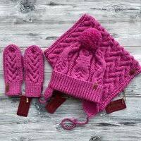 «<b>Комплект шапка</b> и снуд (<b>Перчатки</b>, шарфы, <b>шапки</b> ...