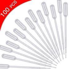 cococity <b>100PCS 1ML</b> Plastic Transfer Pipettes, Pipettes Measuring ...