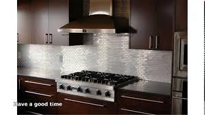kitchen backsplash stainless steel tiles: stainless steel backsplash maxresdefault stainless steel backsplash