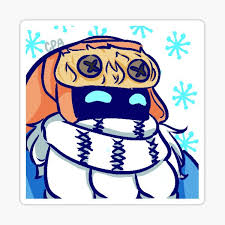 """<b>Snow Day Bard</b> Sticker"" Sticker by saltyseacaptain 