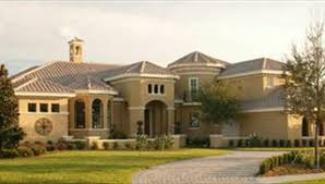 Mediterranean House Plans  amp  Home Designs   Direct from the Designers™Featured Design  View Plan