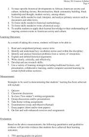 course syllabus introduction pdf others 3 to foster skills needed to interpret and analyze primary
