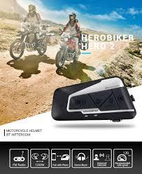 HEROBIKER 1200M <b>Bluetooth</b> Intercom <b>Motorcycle Helmet</b> ...