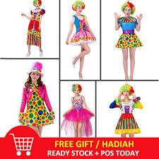 <b>Funny Clown Costumes</b> Adult Woman Joker <b>Costume Cosplay</b> Party ...