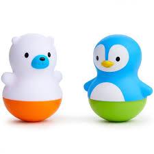 <b>Игрушки для ванны поплавки</b> Медведь и Пингвин