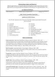 Job Resume Sample   Auto Parts Sales Resume Outside Sales Resume