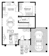 images about House plans on Pinterest   Small House Design    modern house design   ground floor
