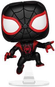 Купить <b>Фигурка Funko POP</b>! Bobble: Marvel: <b>Spider</b>-<b>Man</b>: Miles ...