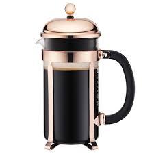 Купить <b>Кофейник с прессом Chambord</b>, 1 л, медь, Bodum в Кофе ...