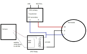 isolation relay wiring diagram for thermostat wiring diagram help installing nest on millivolt system using 24v transformer