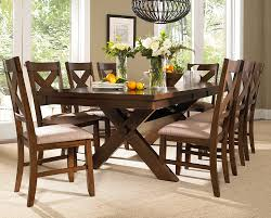 Farmhouse Dining Room Furniture Amusing 9 Piece Dining Room Table Sets High Resolution Cragfont