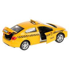 "<b>Машина</b> металл ""<b>HONDA CIVIC</b> ТАКСИ"", длина 12 см, двери ..."