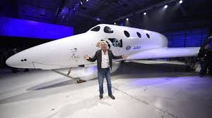 Sir Richard Branson unveils new Virgin Galactic <b>Spaceship</b> - BBC ...