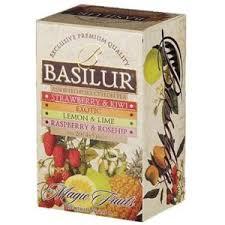 """Цейлонский черный <b>чай Basilur Ассорти</b> """"Волшебные фрукты ..."""