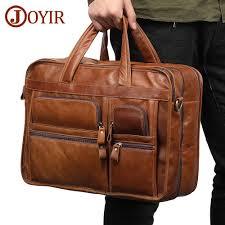 <b>JOYIR Genuine Leather</b> Briefcase