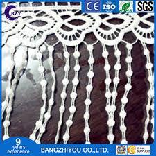 China Long Pearl <b>Lace</b> Accessories Milk Silk <b>Tassel</b> Water <b>Soluble</b> ...