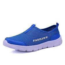 <b>Fashion</b> Summer Shoes Men <b>Casual</b> Mesh Shoes Lightweight ...