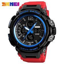 SKMEI <b>Men Watch 50M</b> Waterproof Digital Fashion Watches ...