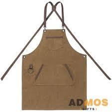 <b>Фартук Craft</b>, <b>коричневый</b> оптом под нанесение , Арт. 1117245.55 ...