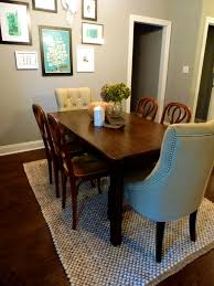 Dining Room Table Size For 10 Furniture Charming Add Twist Your Dinner Dining Room Rugs Ideas