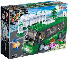 BanBao <b>Конструктор</b> Автобус и автобусная <b>остановка</b> — купить в ...