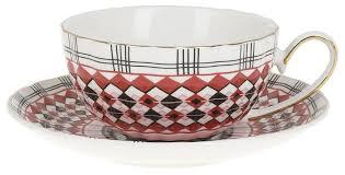 """<b>Best Home</b> Porcelain <b>Чайная пара</b> """"Carnival"""" 220 мл (подарочная ..."""