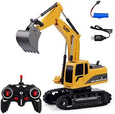 RC Excavator Truck Remote Control Excavator ... - Amazon.com