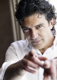 Antonio Banderas, born Jose Antonio Dominguez Banderas in Andalusia, Spain on August 10, 1960, is a Spanish actor, director, and singer. - antoniobanderascurlyhair