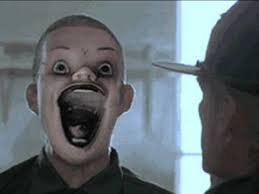 Scary face | Reaction Images | Know Your Meme via Relatably.com
