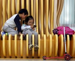 is s one child policy to blame for its economic slowdown zhou ziwei plays his cousin at a shopping mall in beijing 30 has unwound its one child policy