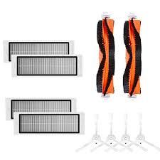 Toogoo 4PCS hepa filter+4PCS side brush+<b>2PCS main brush</b> ...