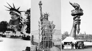 The <b>Statue of Liberty</b> was created to celebrate freed slaves, not ...