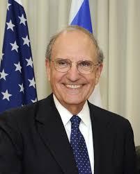 U.S. Special Envoy and former Senator George Mitchell in Tel Aviv, Israel. Credit Matty Stern / Wikipedia--U.S. State Department - George_Mitchell_in_Tel_Aviv_July_26,_2009